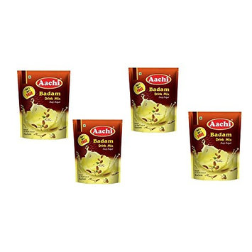 Pack of 4 - Aachi Badam Drink Mix - 200g