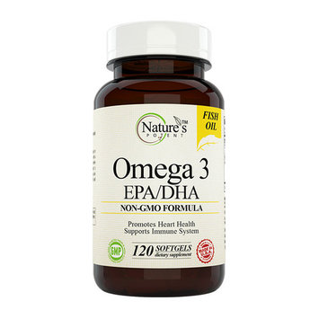 Nature's Potent - Omega 3 EPA/DHA 1000mg Fish Oil, 120 Softgels