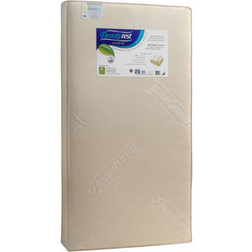 Beautyrest Studio Grand Dreams Crib and Toddler Crib Mattress, Thermo-Bonded Core
