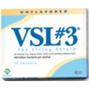 VSL #3 - 30 Sachets (Unflavored) Ships Free in a Cooler with Ice Pack, Exp 2019
