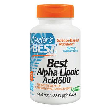 Doctor's Best Best Alpha-Lipoic Acid 600mg