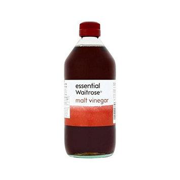 Malt Vinegar essential Waitrose 568ml - Pack of 4