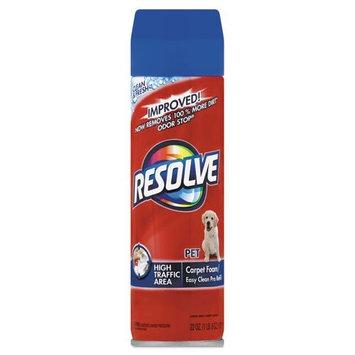 RESOLVE - Pet High Traffic Foam Carpet and Upholstery Cleaner, 22 oz, Aerosol 83262 (DMi EA