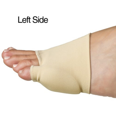 Poly Gel Double Bunion Sleeve - Cushions Metatarsal; Eases Walking Pressure