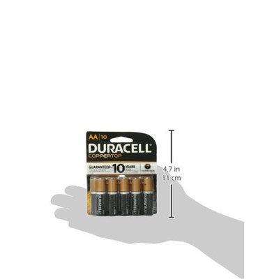 Duracell Coppertop Alkaline AA Batteries - 10 Count [10]