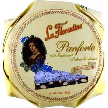 La Florentine - Traditional Italian Panforte, (2)- 12 oz. Pkgs.