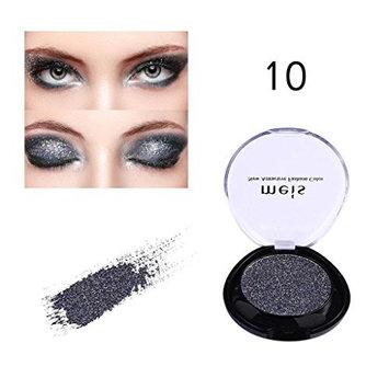 Women Glitter Eyeshadow, Vmree Metallic Shiny Eye Shadow Cream Palette Diamond Highlighter Youth Activating Eye Makeup Girls Cosmetics