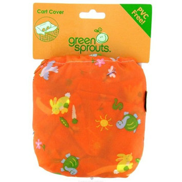 Green Sprouts Shopping Cart Cover, Orange, 1 Unit