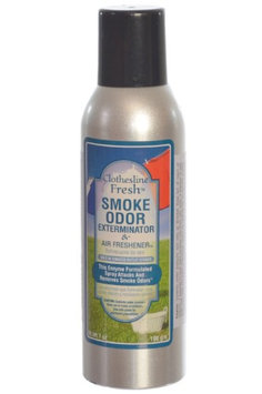 Tobacco Outlet Products Smoke Odor Exterminator Removes Smell 7oz Spray Air Freshener, Clothesline Fresh