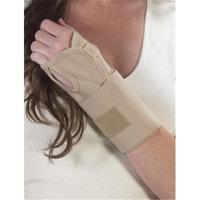 Bilt-Rite Mastex Health 10-22100-LG-2 Wrist Splint Ambidextrous Beige - Large