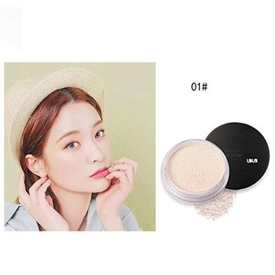 Translucent Loose Powder, FTXJ Oil Lasting Anti-sweat Breathable Transparent Loose Powder Makeup Tool