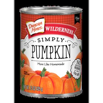 Pinnacle Foods Group, Llc Duncan Hines Wilderness Simply Pumpkin