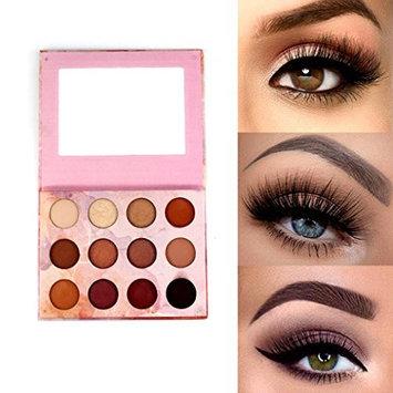 Alonea Shimmer Eyeshadow Palette, Cosmetic Matte Eyeshadow Cream Eye Shadow Makeup Palette 12 Colors