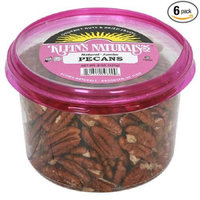 Klein's Natural Foods Jumbo Pecans, Raw Shelled, 6 pk