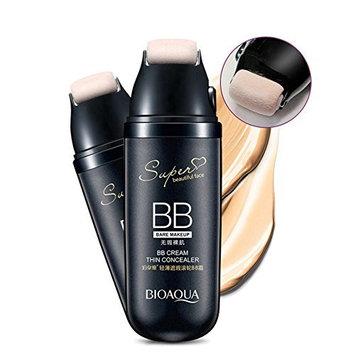 Lotus Trends Roller Concealer BB Cream CC Cream Anti-Aging Roller Concealer Makeup Bare Foundation with FREE Black Liquid Eyeliner