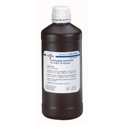 McKesson Hydrogen Peroxide Solution 1 Gal, 4 Each