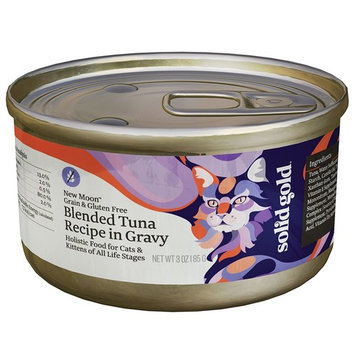 Solid Gold Shreds in Gravy Wet Cat Food; Five Oceans with Tuna & Fish [Tuna in Gravy]