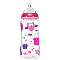 Nuk Wide-Neck Bottle 0+m, 1.0 CT