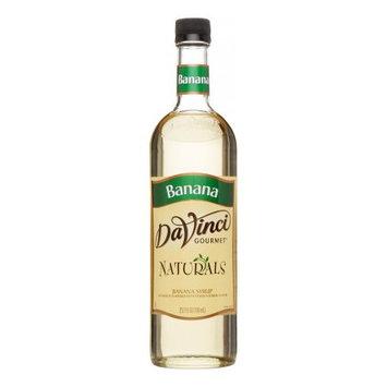 Da Vinci Naturals Syrup, Banana, 700 mL (Glass)