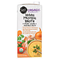 Great Value Sc Organic Vegan Protein Broth 32oz