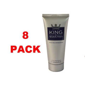 Antonio Banderas King Of Seduction After Shave balm 100 ml. Pack of 8