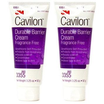 Cavilon 3M Durable Barrier Cream Unscented 3.25 Ounce (92G) Tube by Cavilon 2 tubes