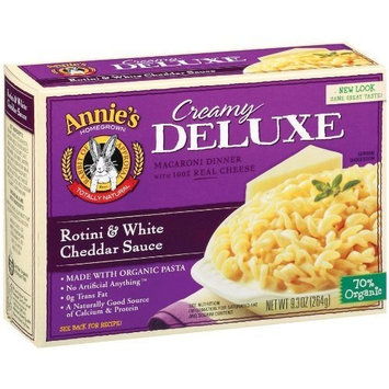 Annie's Homegrown Deluxe Rotini & White Cheddar 9.3-Ounce (Pack of 6)