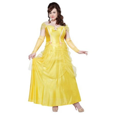 Womens Plus Size Beauty And The Beast Halloween Costume