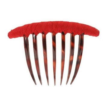 L. Erickson USA French Twist Comb - Silk Dupioni Cement