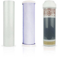Apex Water Filters, Inc. Replacement Filter Pack for Apex 3- Stage Under the Counter Water Filter System