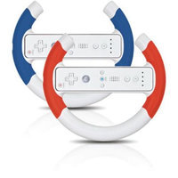 Creative Mind Interactive DGWII-1094 Turbo Wheel Twin Pack- Red & Blue