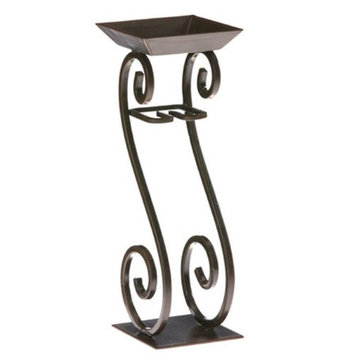 Deco Glow Scroll Candle Tower