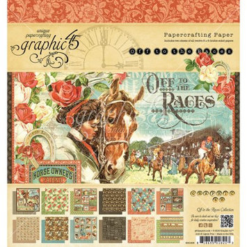 Graphic 45 Double-Sided Paper Pad 8
