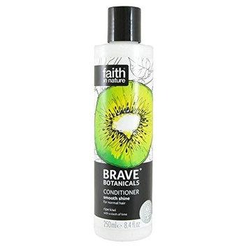 Brave Botanicals Kiwi & Lime Smooth Shine Conditioner 250ml (PACK OF 4)