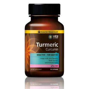 Vitasciences Curcumin Turmeric with 95% Curcuminoids & BioPerine Black Pepper Extract, Advanced Absorption, Support Healthy Heart & Joints, Non-GMO, Gluten-Free, 180 Vegetarian Capsules