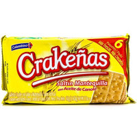 Colombina Crackers, Butter, 5.7 Oz