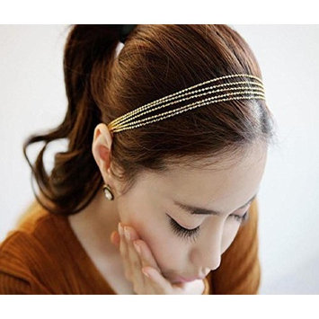 Leoy88 Women Tassels Head Chain Gift for Party G