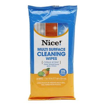 N'ice Nice! Multi-Surface Wipes 25.0 ea(pack of 6)