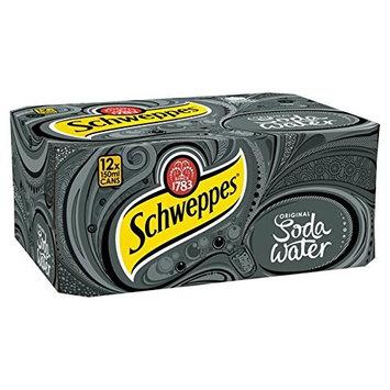 Schweppes Soda Water Mini Cans 12 x 150ml