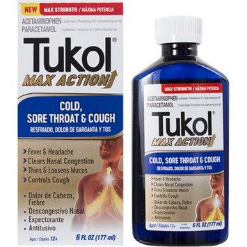 Emerson Tukol Max Action Cold, Sore Throat, Cough, 6 fl oz