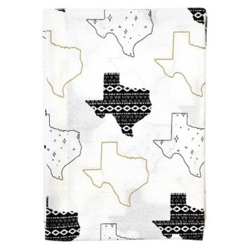 TX Kitchen Towel White/Black 9.25