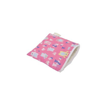 Itzy Ritzy Snack Happens Reusable Snack and Everything Bag Forest Friends - Itzy Ritzy Diaper Bags & Accessories