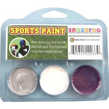 Sports Makeup Kit White, Silver, Purple