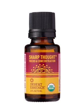 Essential Oil Organic Sharp Thought Desert Essence 0.5 oz Oil