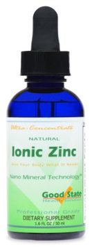 Good State Liquid Ionic Zinc Ultra Concentrate - 10 Drops Equals 15mg - 100 Servings Per Bottle