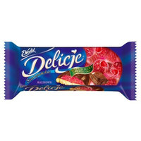 LU Delicje Raspberry, 5.19-Ounce Packages (Pack of 24)