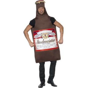 Mens Funny Studmeister Beer Bottle Lord Of Lagers Costume