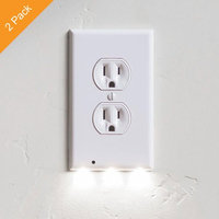 Alphabetdeal. 2 Pack Outlet Cover LED Night Light