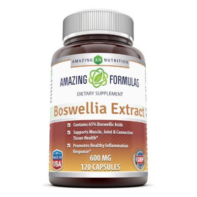 Good Brands, Llc Amazing Nutrition Boswellia Extract - 600mg, 120 Capsules