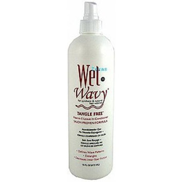 WET-N-WAVY Leave In Conditioner Spray 16 oz (Pack of 3)